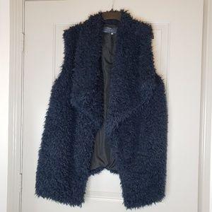 Zara Fur Vest Size L
